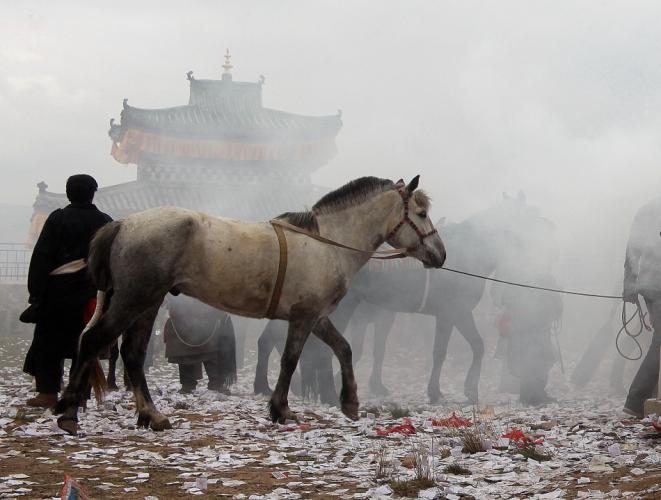 China - Gansu 325 - Xiahe area