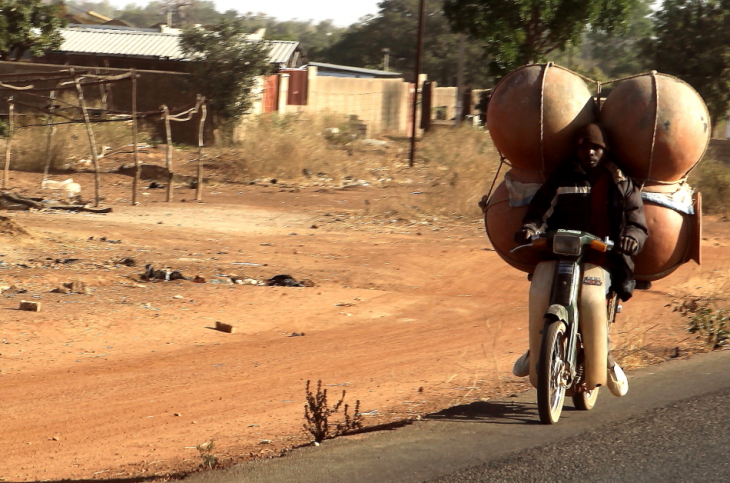 Burkina Faso 001 - On the road to Kaya