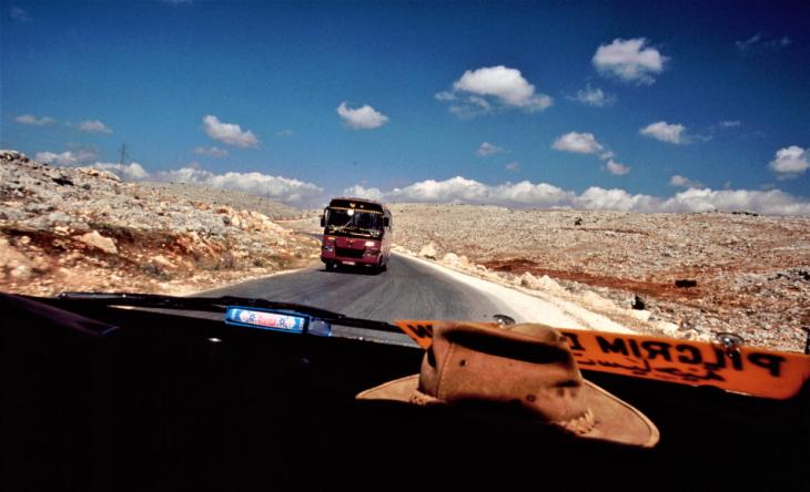 Syria - Serjilla 001 - On the road