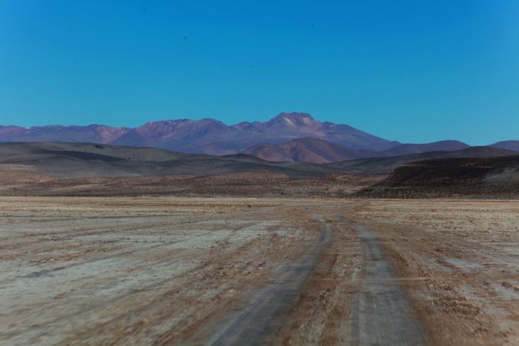 Bolivia - Itinerary Sur Lipez-Tupiza 001 / On the road to NP Eduardo Avaroa check-point