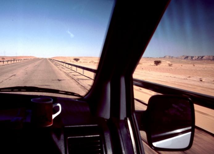 Libya - Ghadames 001 - On the road to Ghadames