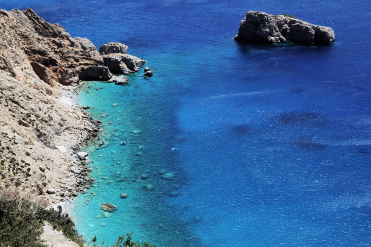 Greece - Amorgos 002 - On the way to the Monastery of Hozoviotissa