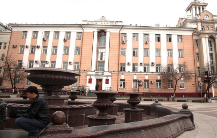 Russia - Ulan Ude 002 - Opera Square