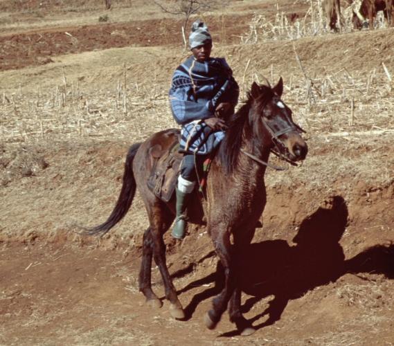 Lesotho - Malealea 02