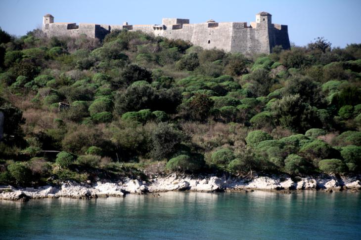 Albania 003 - Ionian Coast - Palermo Castle