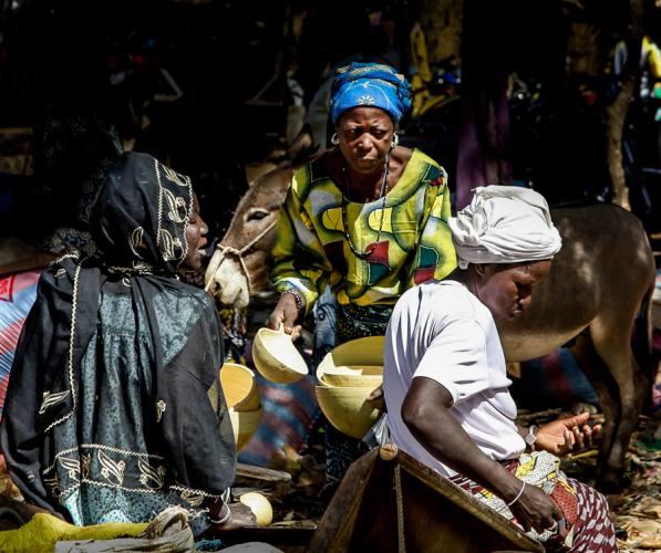 Burkina Faso 033 - Market near Kaya