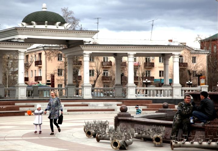 Russia - Ulan Ude 005 - Opera Square