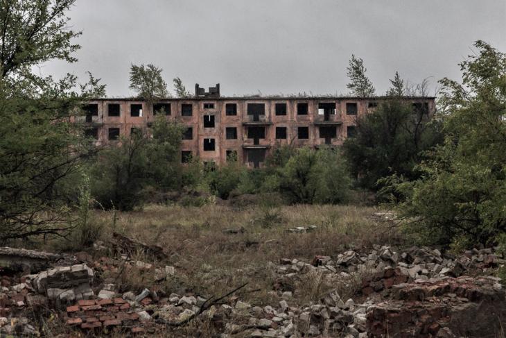 Kazakhstan - Chagan ghost town 005
