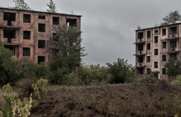 Kazakhstan - Chagan ghost town 006