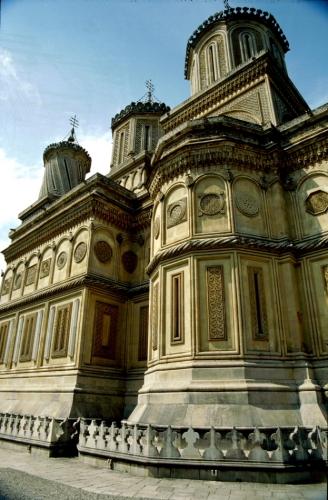 Romania - Curtea de Arges 006 - The cathedral