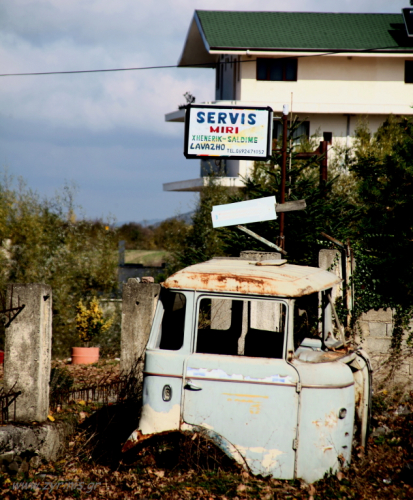 Albania - On the road to Permet 007