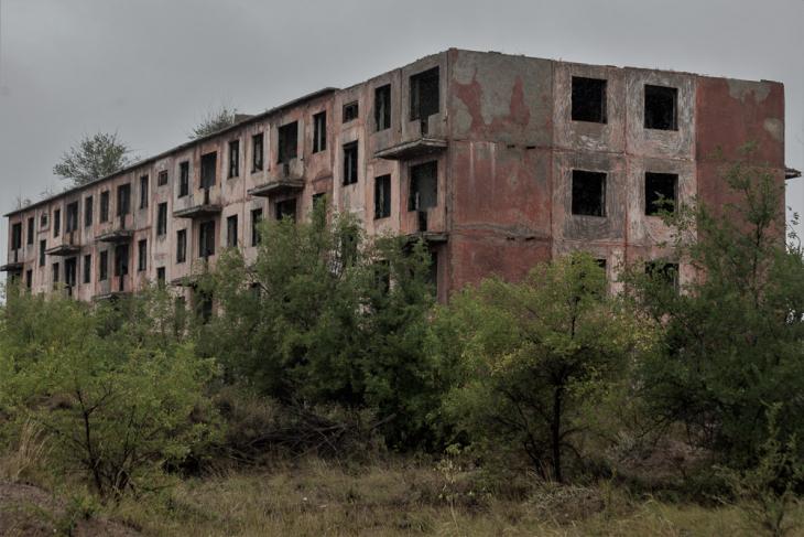 Kazakhstan - Chagan ghost town 007