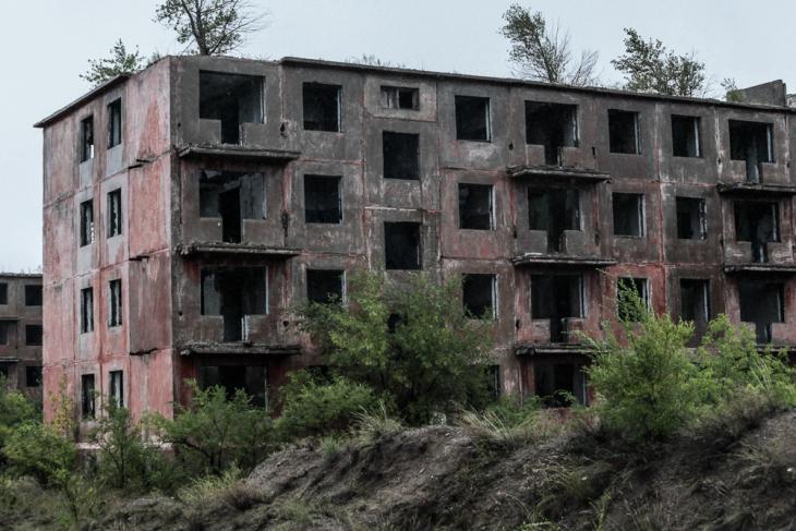 Kazakhstan - Chagan ghost town 008