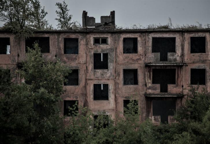 Kazakhstan - Chagan ghost town 009