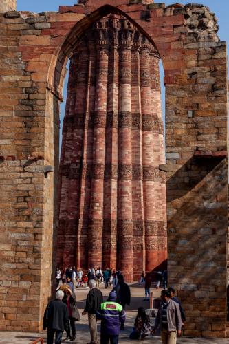 India - New Delhi 39 - Qutb Minar 2020