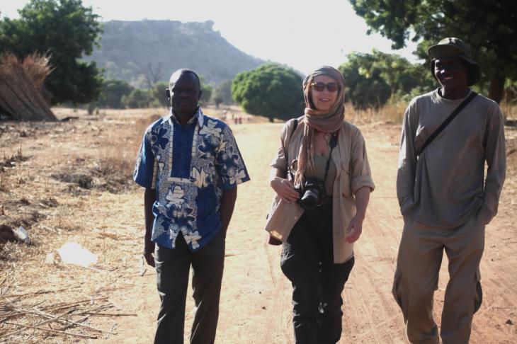 Burkina Faso - Falaise du Gobnangou 009