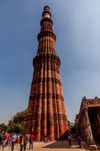 India - New Delhi 40 - Qutb Minar 2020