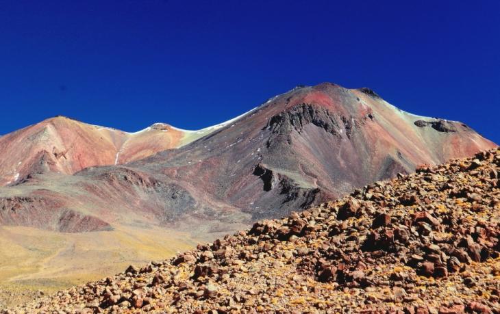 Bolivia - Itinerary Sur Lipez-Tupiza 010 / Volcano Ollangue