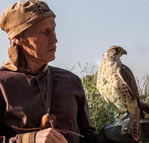Kazakhstan - Bird training 011