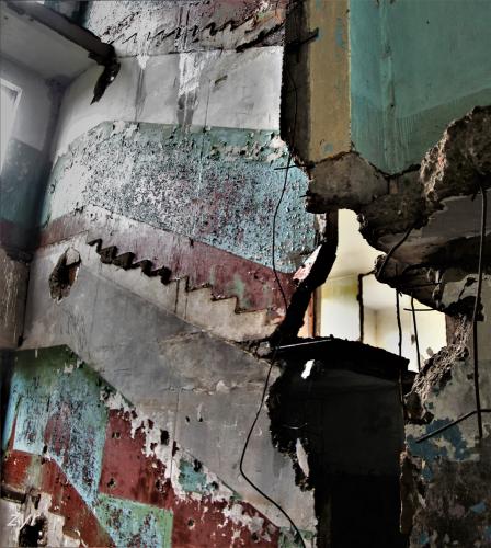 Kazakhstan - Chagan ghost town 012