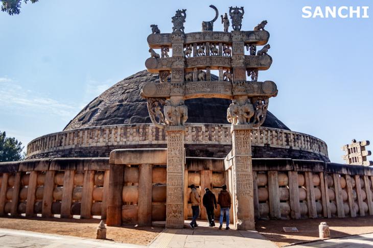 India - Madhya Pradesh - Bhopal surroundings 014 - Sanchi