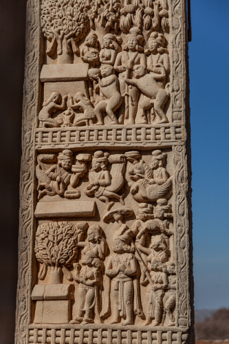 India - Madhya Pradesh - Bhopal surroundings 015 - Sanchi