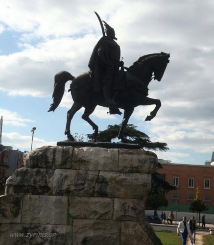 Albania - Tirana 015 - Skanderbeg Square