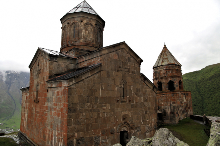 Georgia - Kazbegi 016 - Gergeti Trinity Church