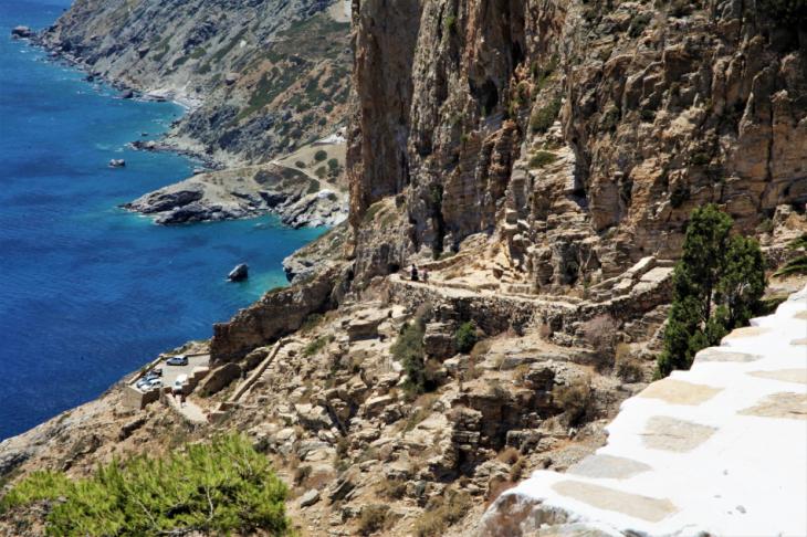 Greece - Amorgos 016 -Monastery of Hozoviotissa