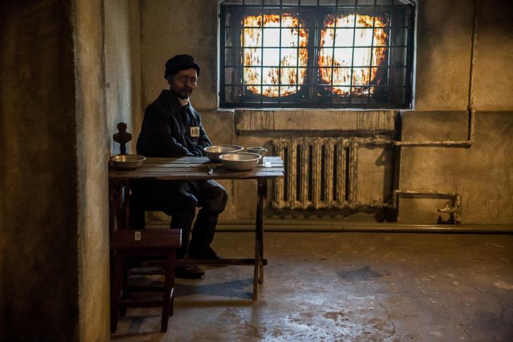 Kazakhstan - Karlag Museum in Dolinka 016 -  Prison reconstitution