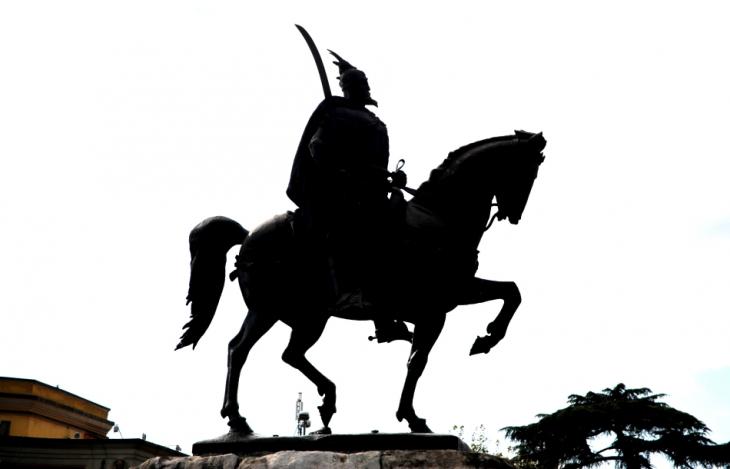 Albania - Tirana 016 - Skanderbeg Square
