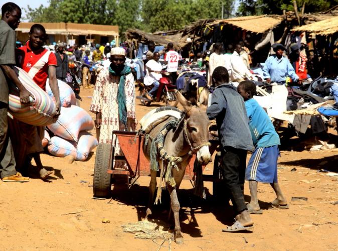 Burkina Faso 017 - Market near Kaya