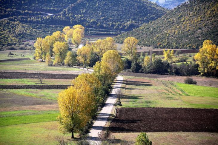 Albania - On the road to Permet 018