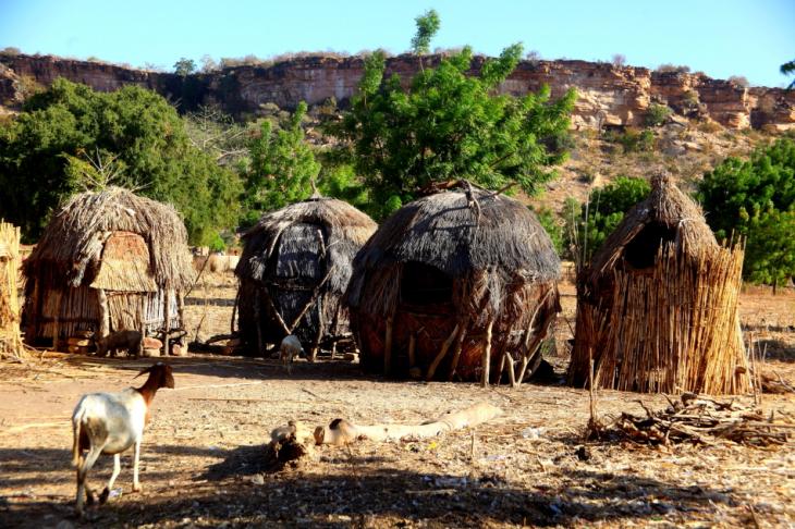 Burkina Faso - Falaise du Gobnangou 018