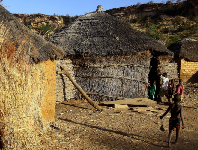Burkina Faso - Falaise du Gobnangou 019