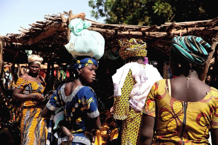 Burkina Faso 021 - Market near Kaya
