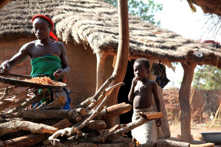 Burkina Faso 021 - Gan's village