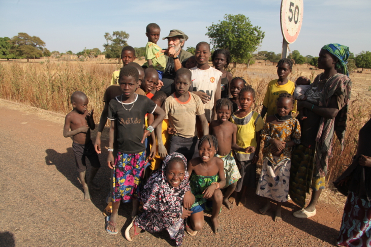 Burkina Faso - Going East - On the road to W National Park 022