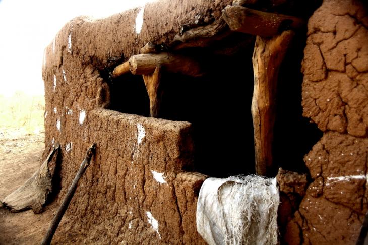 Burkina Faso - Gaoua 022 - Witch doctor's village