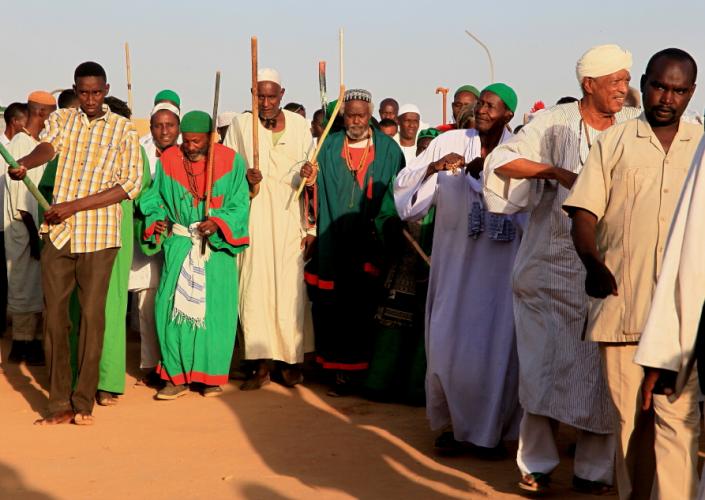 Sudan - Dervish ceremony 023