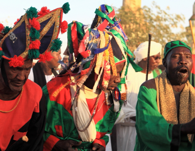 Sudan - Dervish ceremony 024