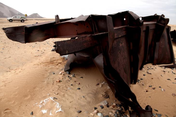 Mauritania 024 - Crossing to Ben Amera