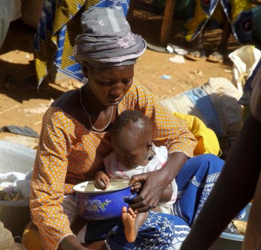 Burkina Faso 024 - Market near Kaya