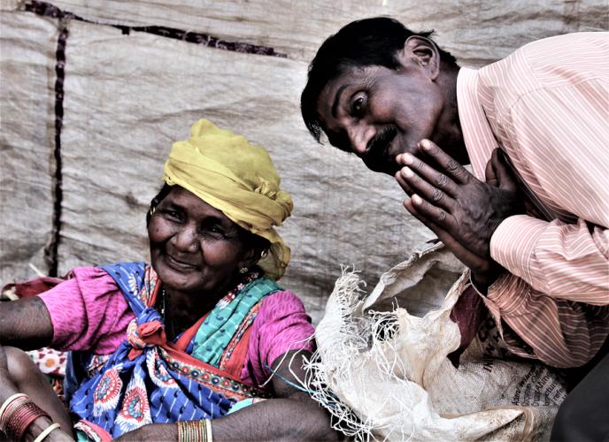 India - Odisha 025 - Tribal market on the way to Rayagada