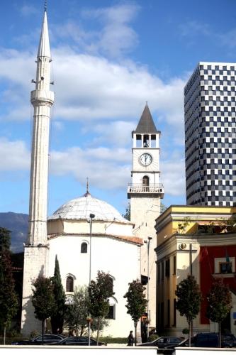 Albania - Tirana 025 - Skanderbeg Square