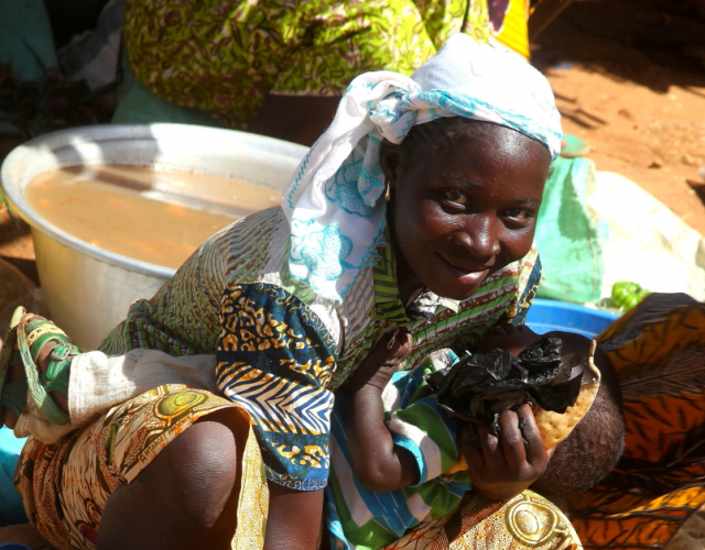 Burkina Faso 025 - Market near Kaya