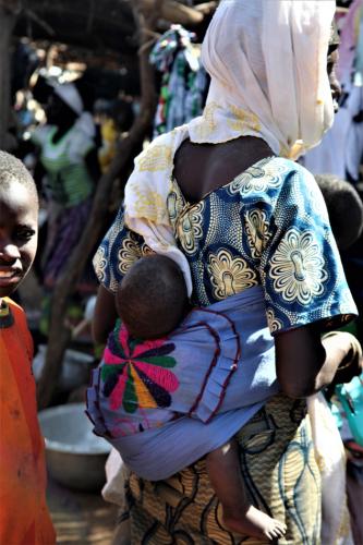 Burkina Faso 026 - Market near Kaya
