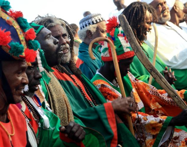 Sudan - Dervish ceremony 027