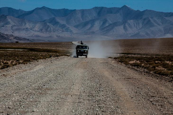 Tajikistan 027 - Deviation from the road to Karakul