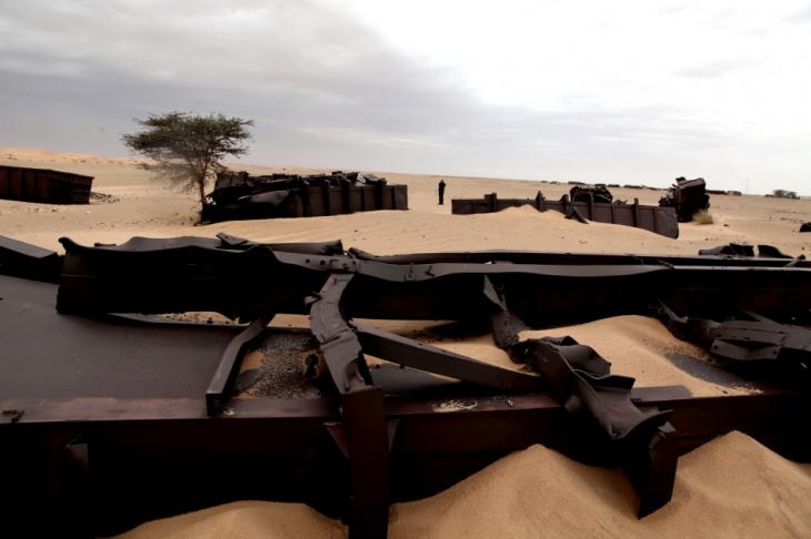 Mauritania 028 - Crossing to Ben Amera